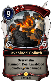 Lavablood Goliath