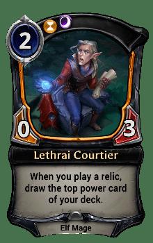 Lethrai Courtier