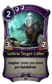 Lethrai Target Caller
