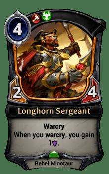 Longhorn Sergeant