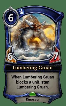 Lumbering Gruan