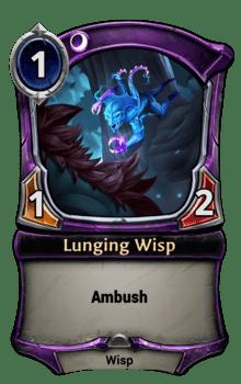 Lunging Wisp