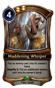 Maddening Whisper