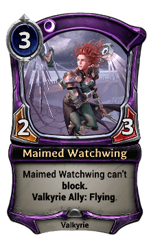 Maimed Watchwing