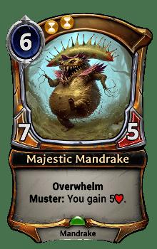 Majestic Mandrake