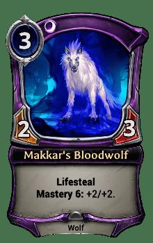 Makkar's Bloodwolf