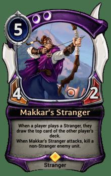 Makkar's Stranger