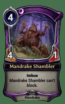 Mandrake Shambler