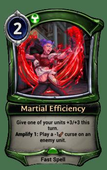 Martial Efficiency