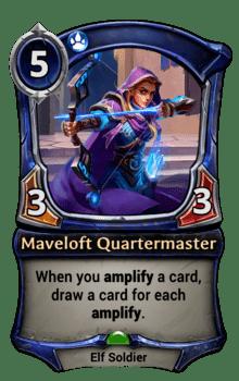 Maveloft Quartermaster