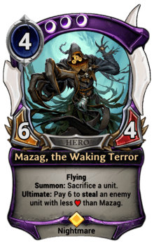 Mazag, the Waking Terror