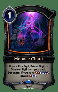 Menace Chant
