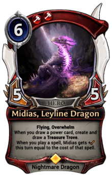Midias, Leyline Dragon