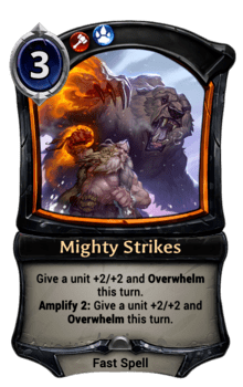 Mighty Strikes