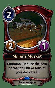 Miner's Musket
