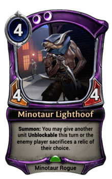 Minotaur Lighthoof