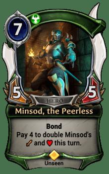 Minsod, the Peerless