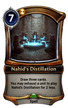 Nahid's Distillation