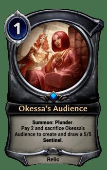 Okessa's Audience