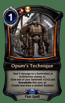 Opum's Technique