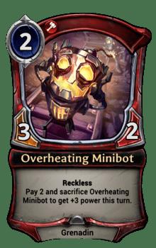 Overheating Minibot
