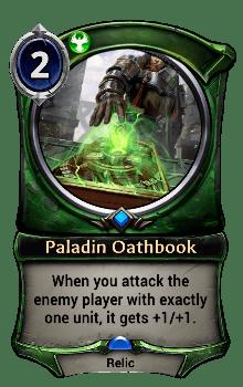 Paladin Oathbook
