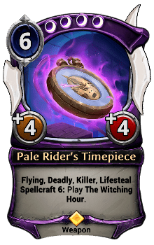 Pale Rider's Timepiece