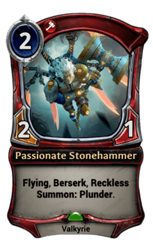 Passionate Stonehammer
