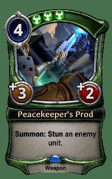 Peacekeeper's Prod