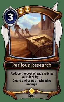 Perilous Research