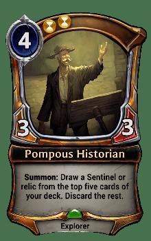 Pompous Historian