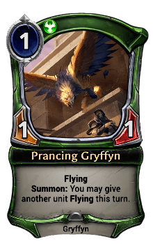 Prancing Gryffyn