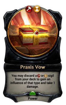 Praxis Vow
