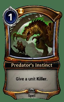 Predator's Instinct