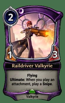Raildriver Valkyrie