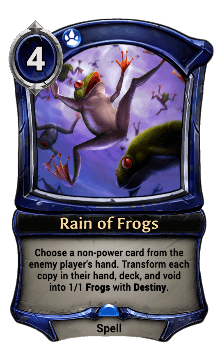 Rain of Frogs