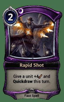 Rapid Shot