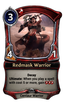 Redmask Warrior
