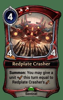 Redplate Crasher
