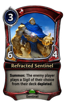 Refracted Sentinel