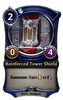 Reinforced Tower Shield