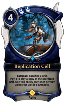 Replication Cell