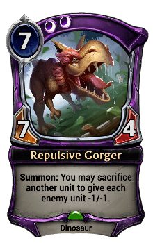 Repulsive Gorger