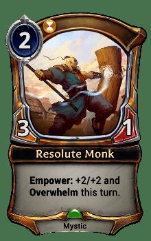 Resolute Monk