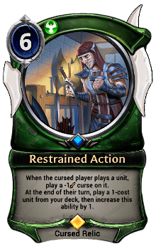 Restrained Action