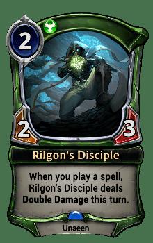 Rilgon's Disciple