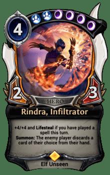 Rindra, Infiltrator