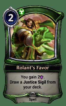 Rolant's Favor