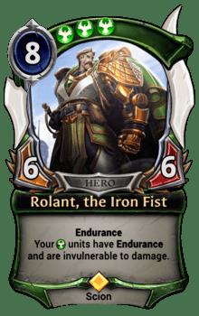 Rolant, the Iron Fist