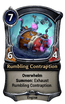 Rumbling Contraption